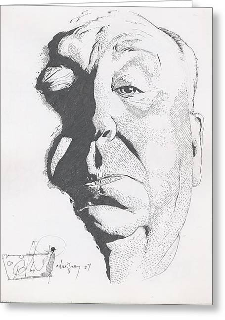 Hitchcock Greeting Card