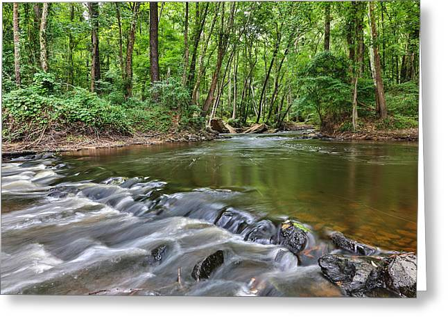 Hitchcock Creek Flow Greeting Card