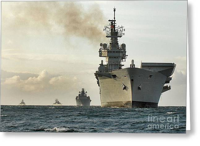 Hms Ark Royal  Greeting Card