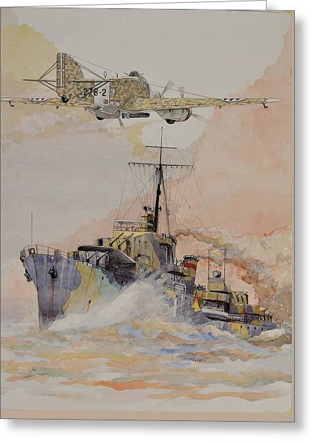 Hms Ashanti Greeting Card