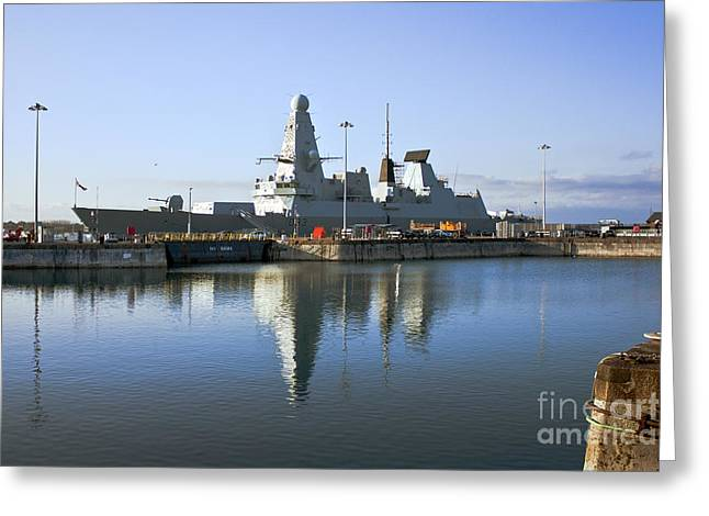 Hms Dauntless Greeting Card