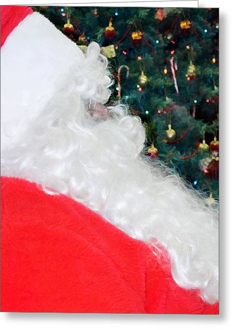 Greeting Card featuring the photograph Santa Claus by Vizual Studio
