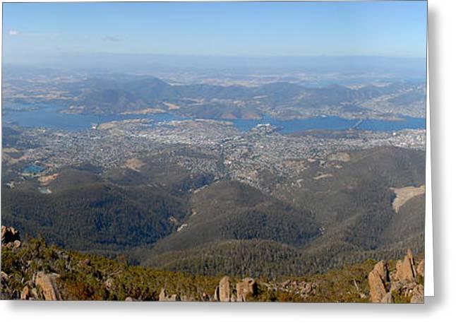 Hobart City Greeting Card