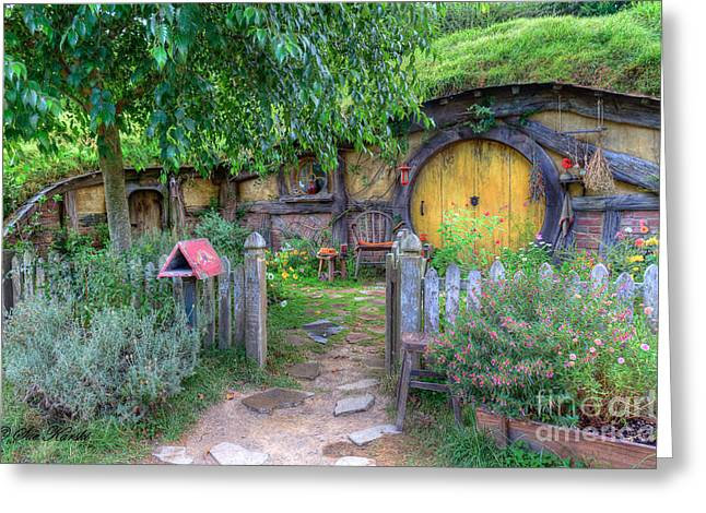 Hobbit Hole 2 Greeting Card