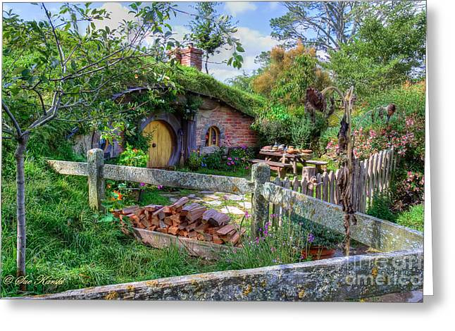 Hobbit Hole 7 Greeting Card