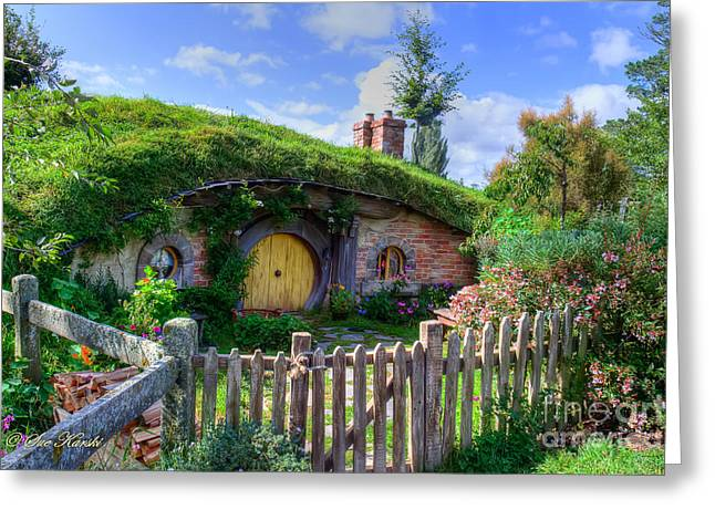 Hobbit Hole 7a Greeting Card
