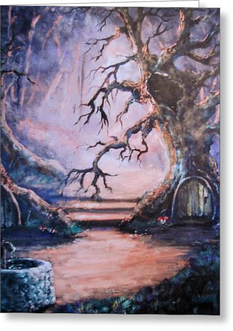 Hobbit Watering Hole Greeting Card
