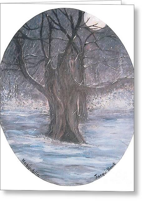Hobgoblin Tree Greeting Card