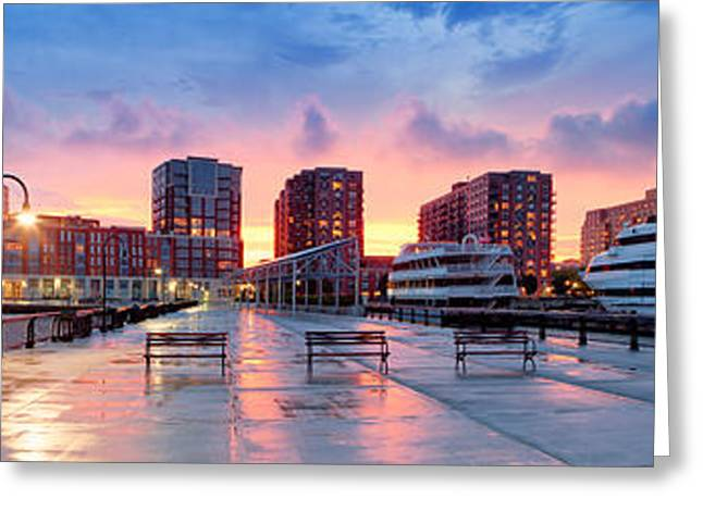 Hoboken New Jersey Greeting Card by Emmanuel Panagiotakis