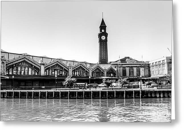 Hoboken Terminal Tower Greeting Card