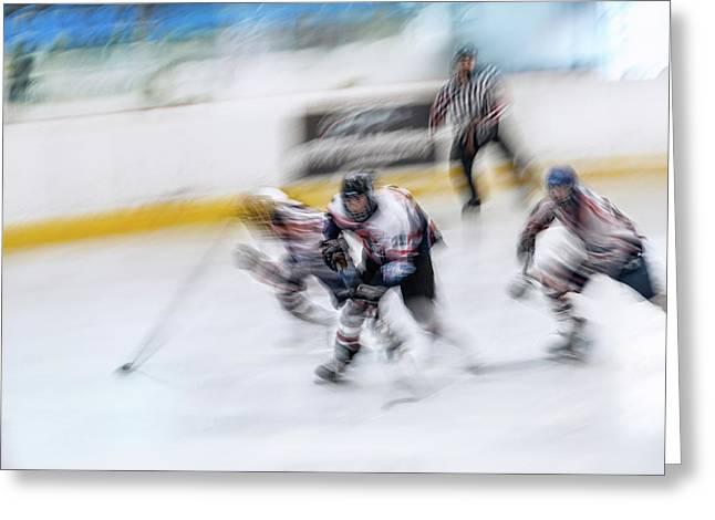 Hockey U18_3 Greeting Card