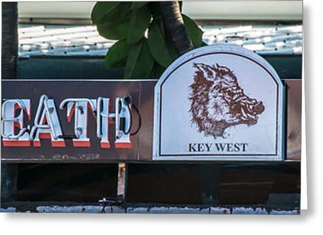 Hog's Breath Saloon 1 Key West Greeting Card