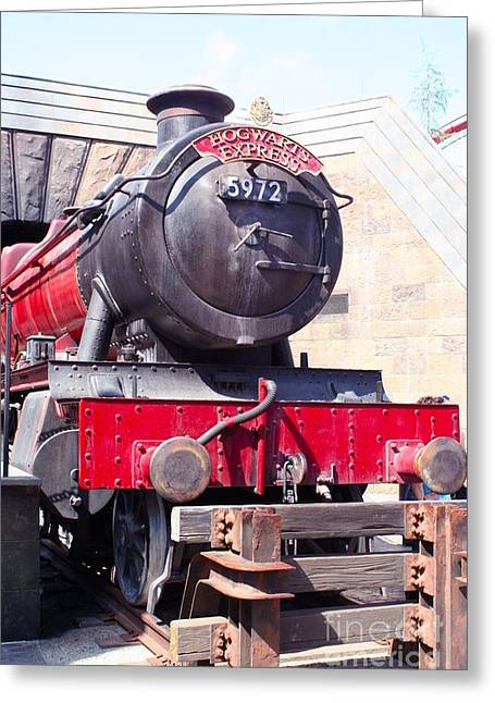 Hogwarts Express Color Greeting Card