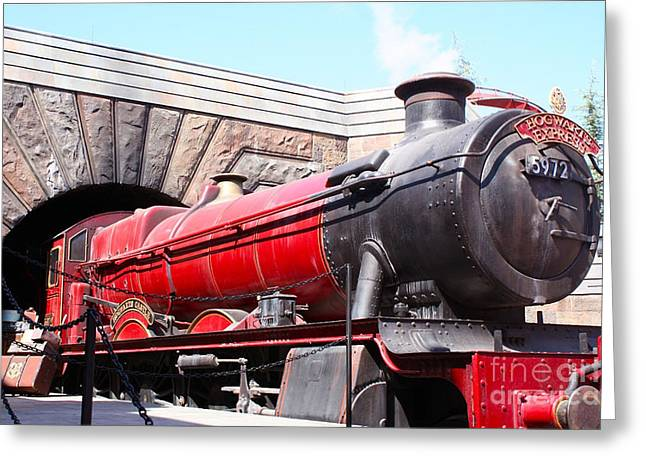 Hogwarts Express In Color 1 Greeting Card