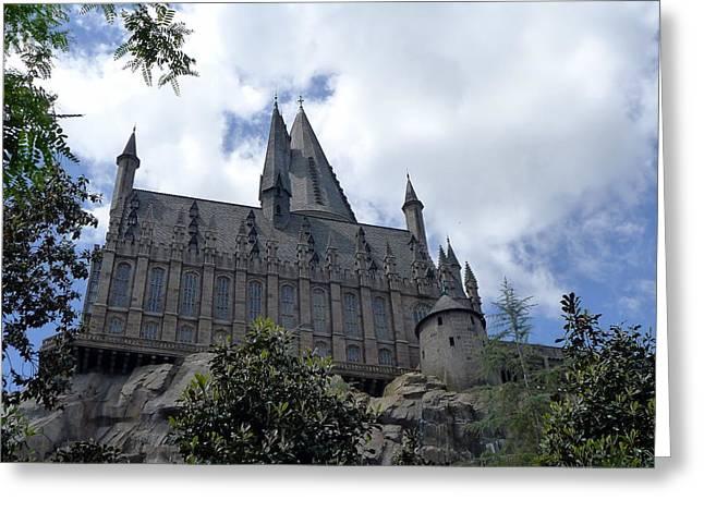 Hogwarts School Greeting Card by Richard Reeve