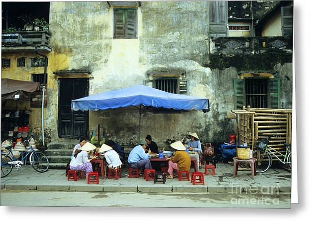 Hoi An Noodle Stall 02 Greeting Card