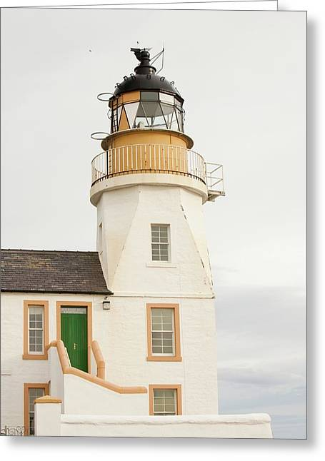 Holborn Head Lighthouse Greeting Card by Ashley Cooper