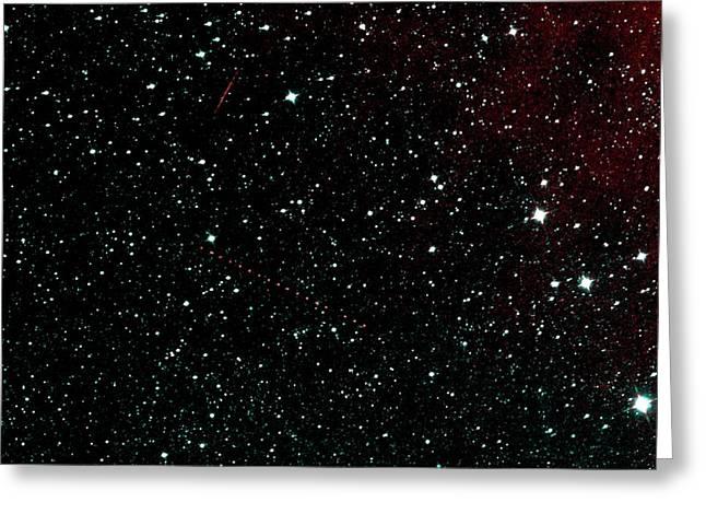Holda Asteroid Greeting Card by Nasa/jpl-caltech