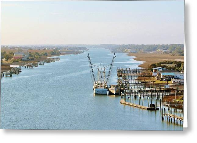 Holden Beach In Nc Greeting Card
