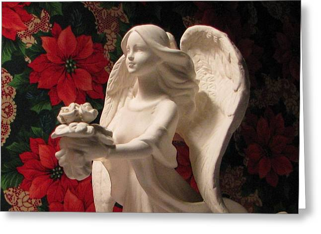 Holiday Childrens  Angel  Greeting Card