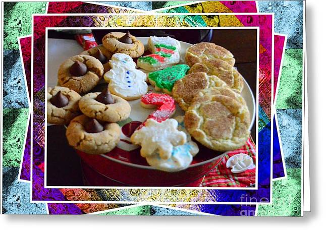 Holiday Cookies Greeting Card by Kathleen Struckle