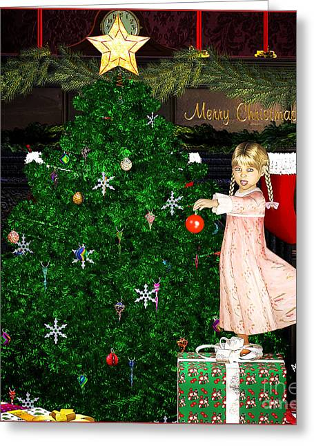 Holiday Dreams Greeting Card
