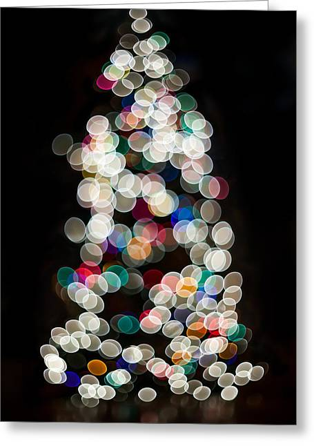 Holiday In Color Greeting Card