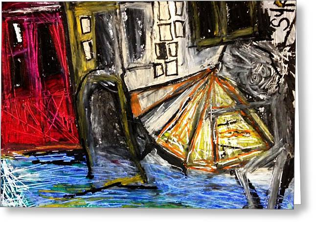Holiday In Venice Greeting Card