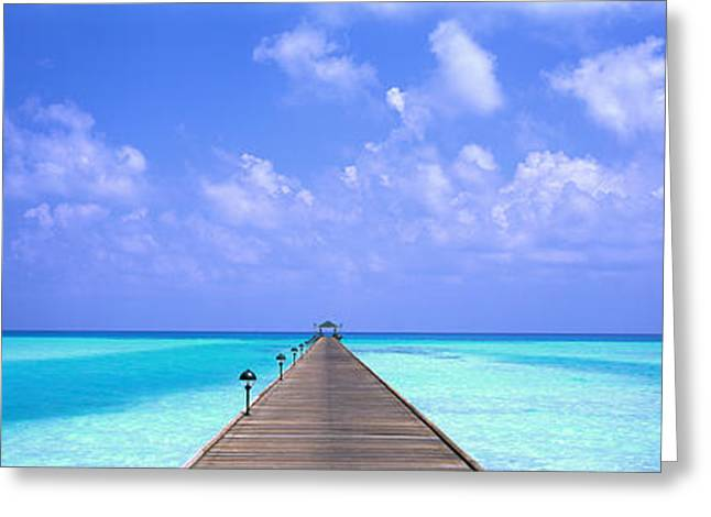 Holiday Island Maldives Greeting Card