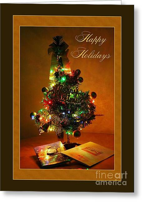 Holiday Mini Tree Greeting Card