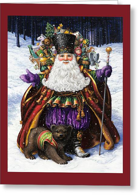 Holiday Riches Greeting Card