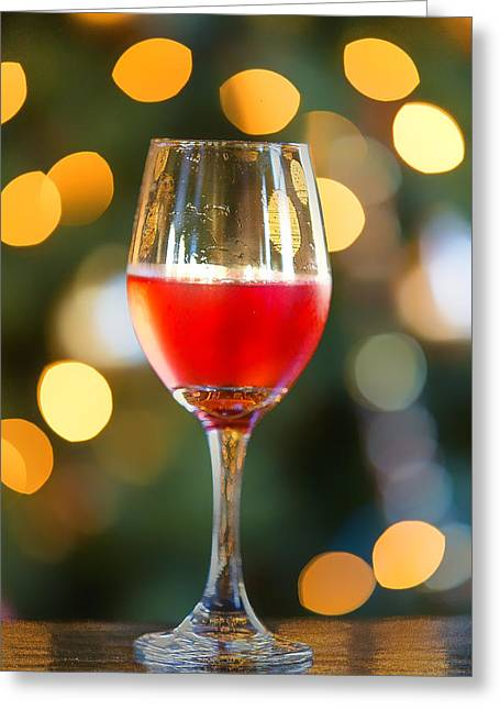 Holiday Spirits Greeting Card by Bill Tiepelman