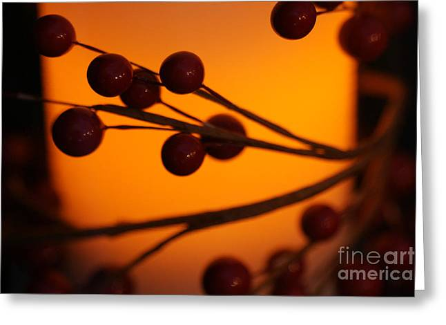 Greeting Card featuring the photograph Holiday Warmth 2 by Linda Shafer
