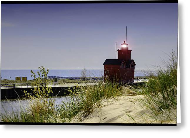 Holland Harbor Light  Greeting Card
