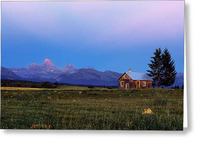 Hollingshead Ranch Greeting Card by Leland D Howard
