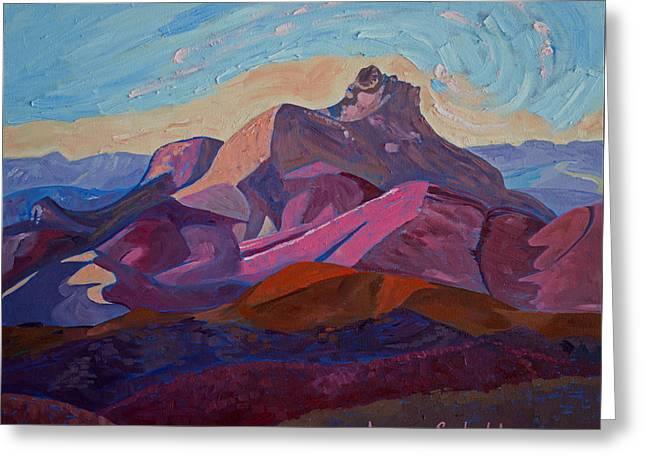 Hollister Peak Greeting Card