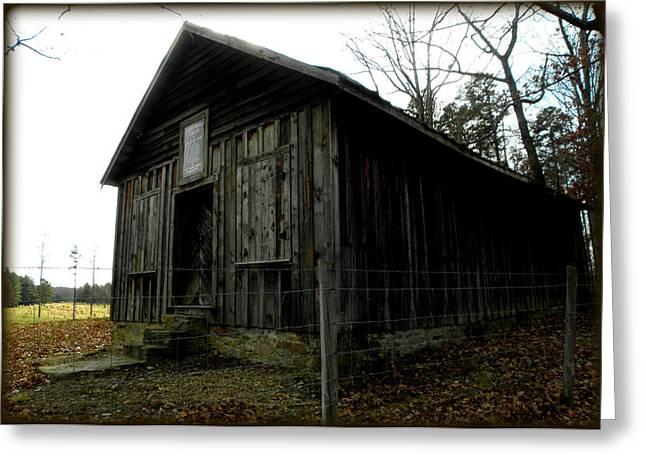 Holloway Township Historic Site Nc Usa Greeting Card by Kim Galluzzo Wozniak