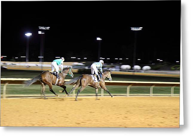 Hollywood Casino At Charles Town Races - 121218 Greeting Card by DC Photographer