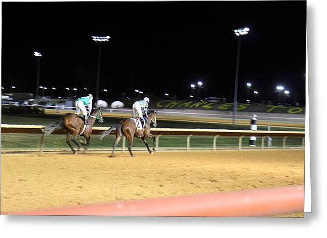 Hollywood Casino At Charles Town Races - 121220 Greeting Card by DC Photographer