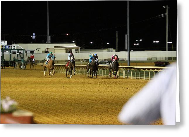 Hollywood Casino At Charles Town Races - 121239 Greeting Card by DC Photographer