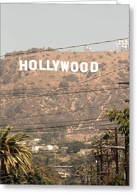 Hollywood Greeting Card