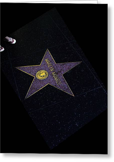 Hollywood Star Greeting Card