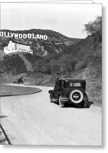 Hollywoodland Greeting Card