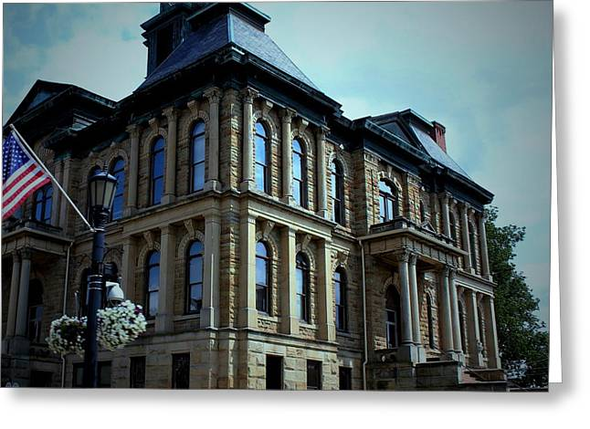 Holmes County Ohio Courthouse Greeting Card