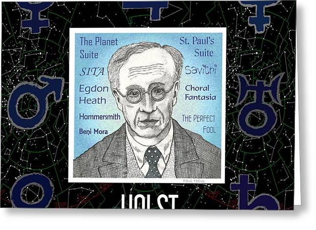 Holst Greeting Card by Paul Helm