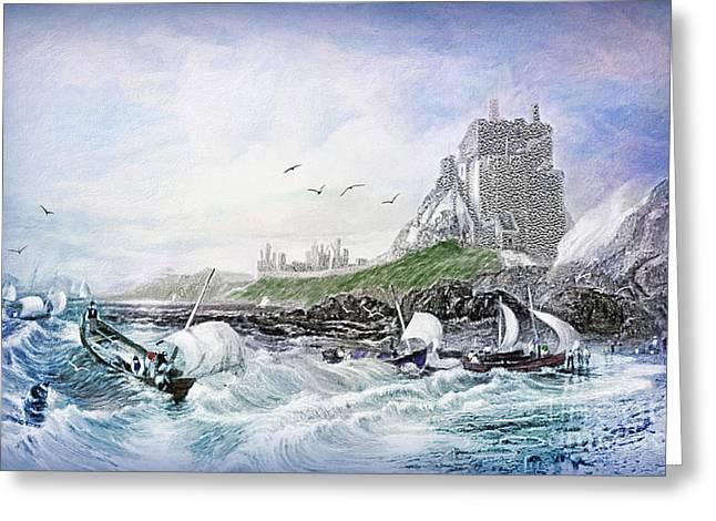 Holy Island - Lindisfarne Greeting Card