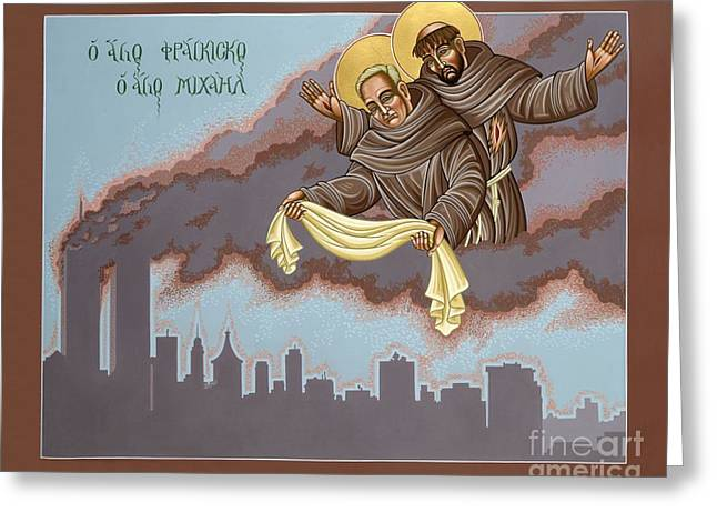 Holy Passion Bearer Mychal Judge 132 Greeting Card