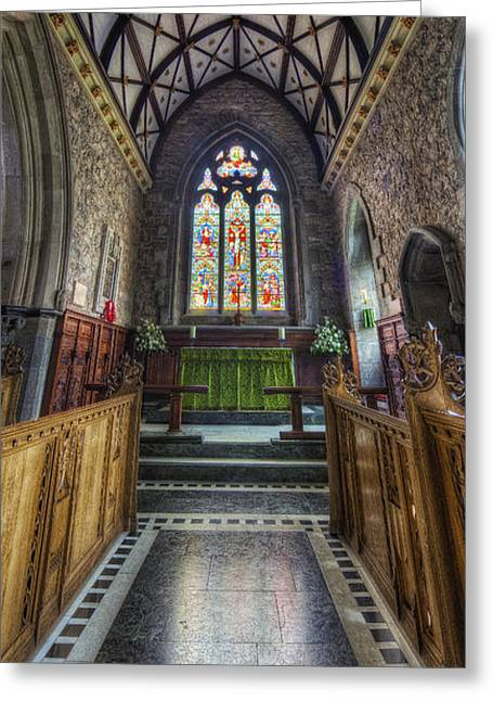Holy Trinity Church Vertotama Greeting Card by Ian Mitchell