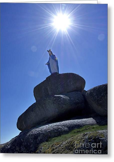 Holy Virgin Greeting Card
