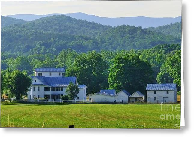 Homan Mill And Homestead Greeting Card by Teena Bowers